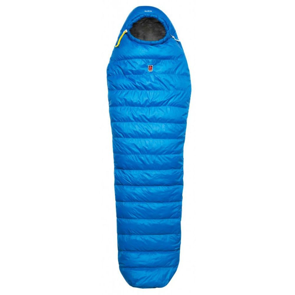 FJALLRAVEN Move With Bag Sleeping Bag, Regular - BLUE/GREY