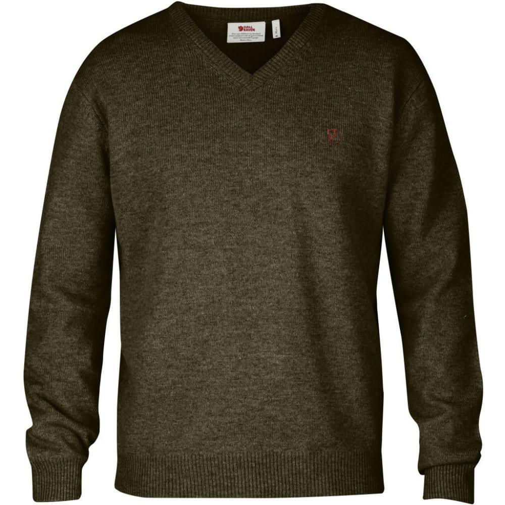 FJALLRAVEN Men's Shepparton Sweater - DARK OLIVE