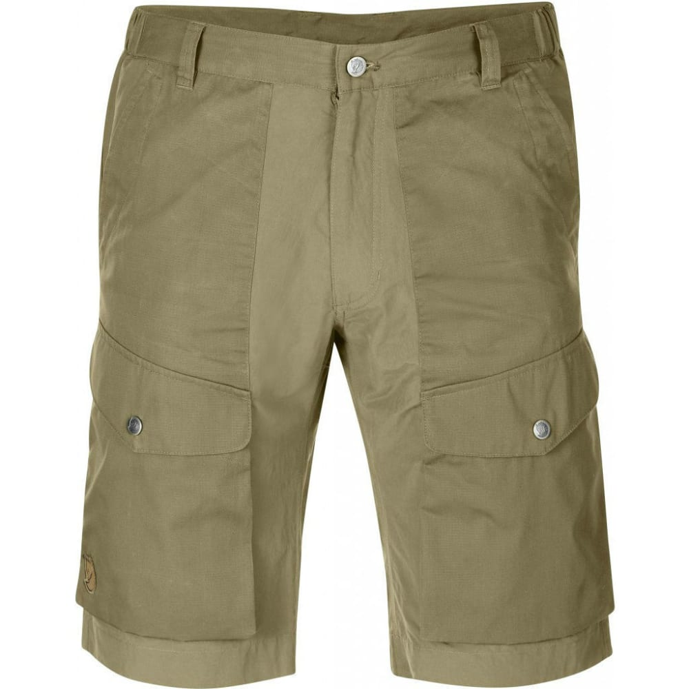 FJALLRAVEN Men's Abisko Hybrid Shorts - CORK