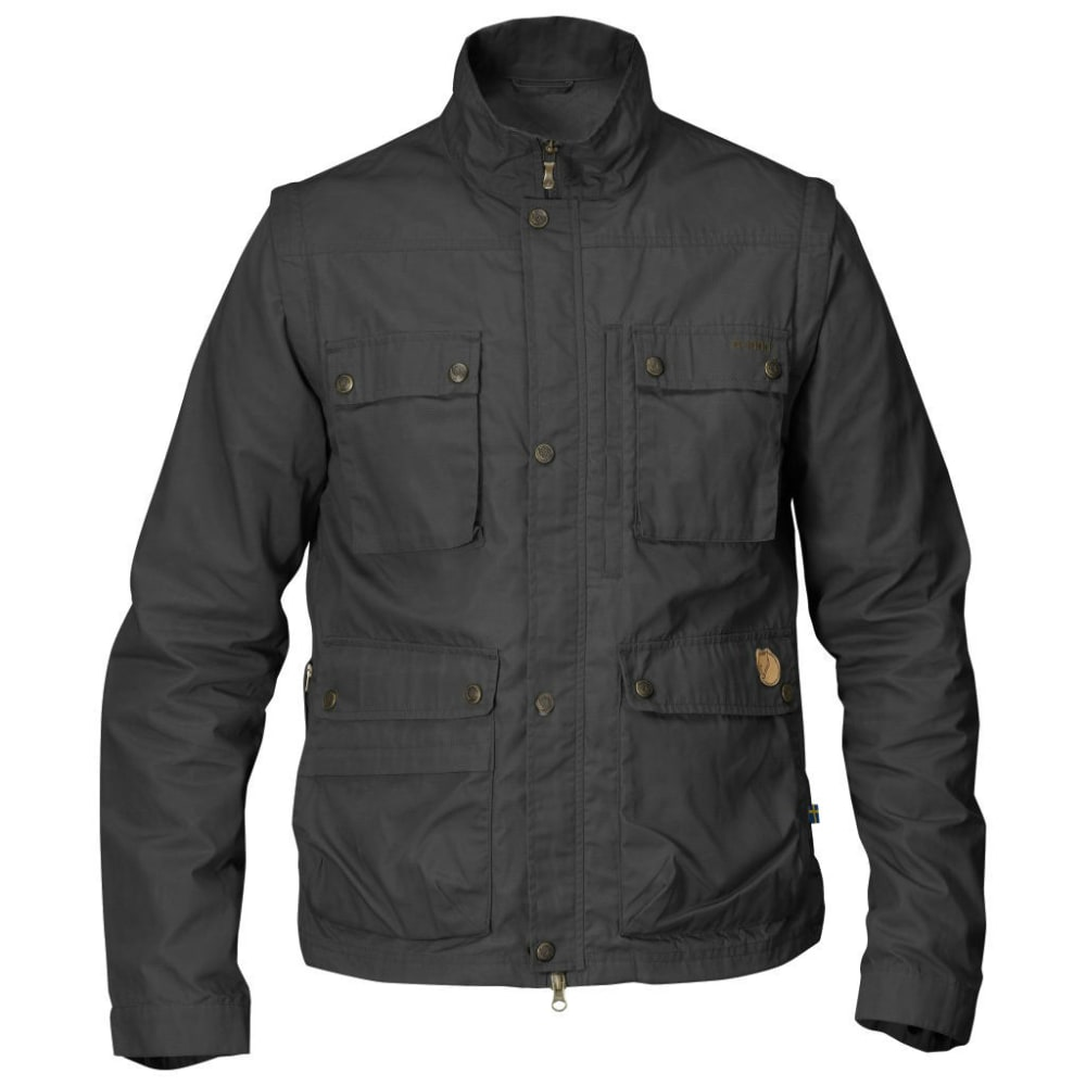 FJALLRAVEN Men's Reporter Lite Jacket - DARK GREY