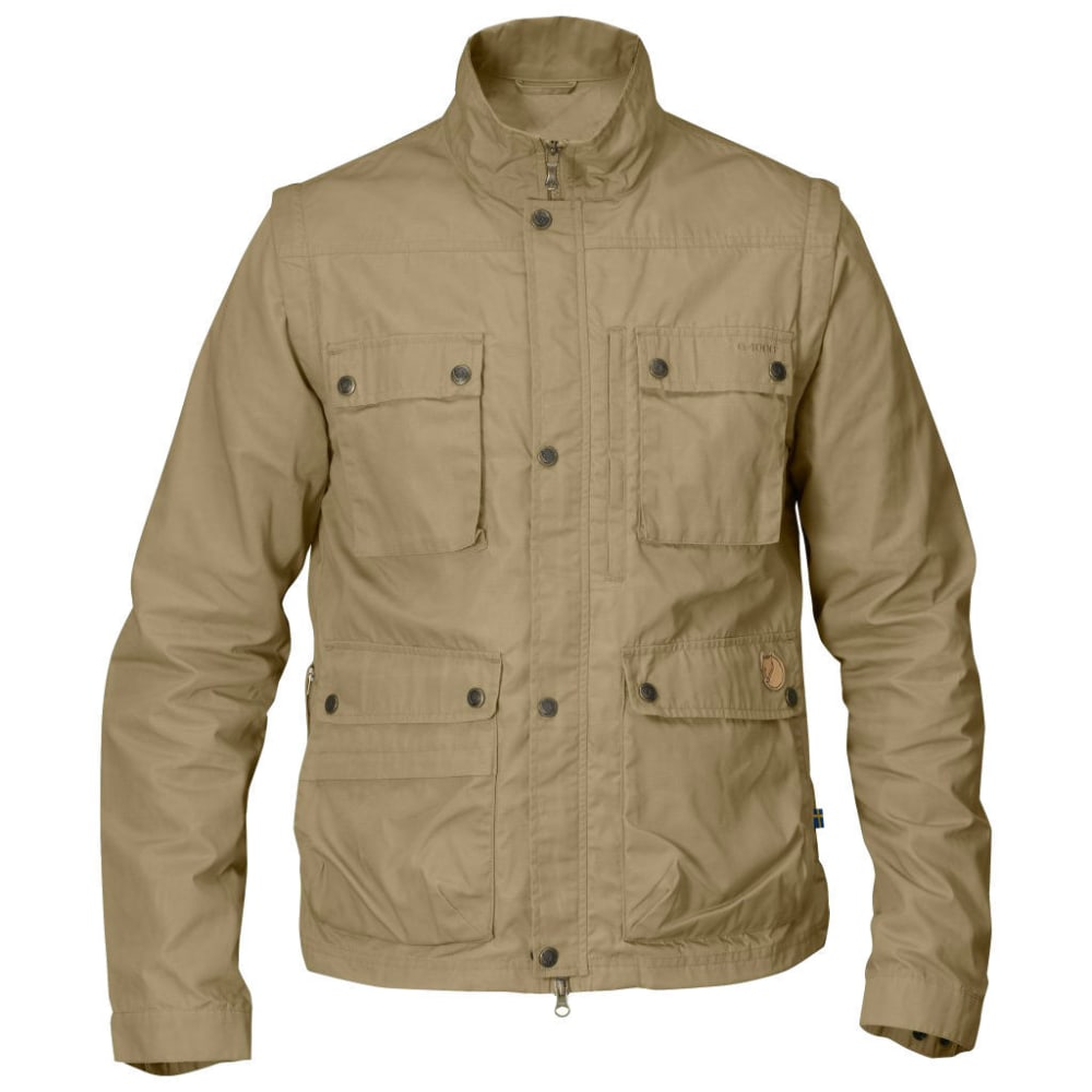 FJALLRAVEN Men's Reporter Lite Jacket - SAND