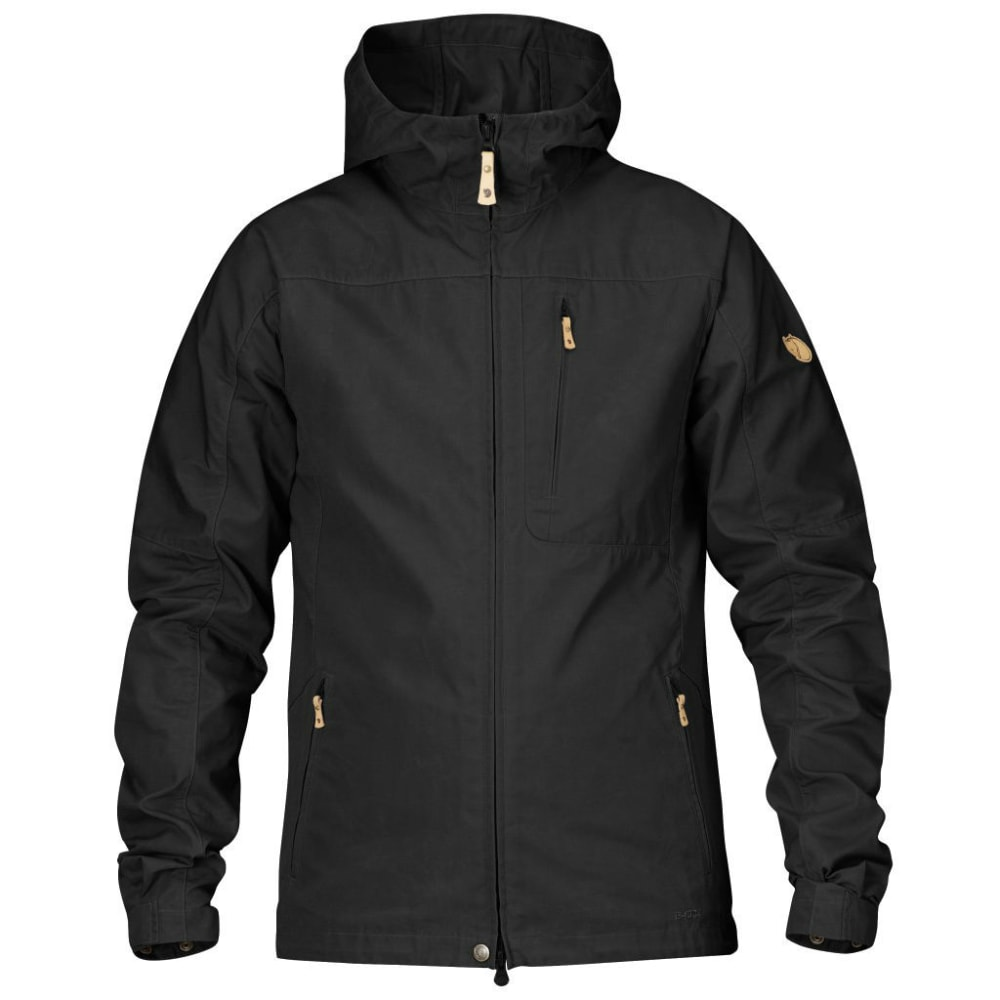 FJALLRAVEN Men's Sten Jacket - BLACK