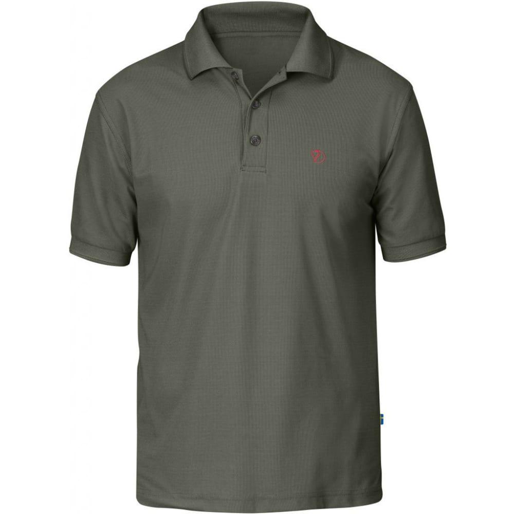 FJALLRAVEN Men's Crowley Pique Polo Shirt - MOUNTAIN GREY