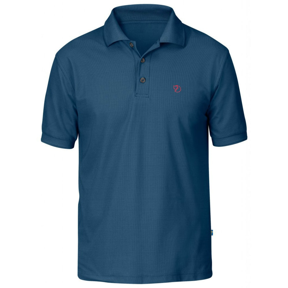 FJALLRAVEN Men's Crowley Pique Polo Shirt L
