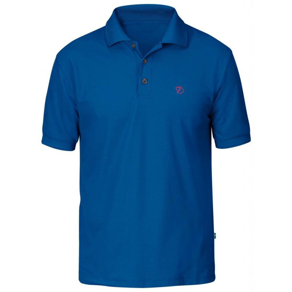 FJÄLLRÄVEN Men's Crowley Pique Polo Shirt - BAY BLUE