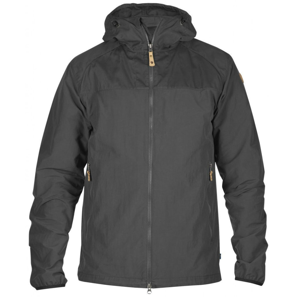 FJALLRAVEN Men's Abisko Hybrid Jacket - DARK GREY