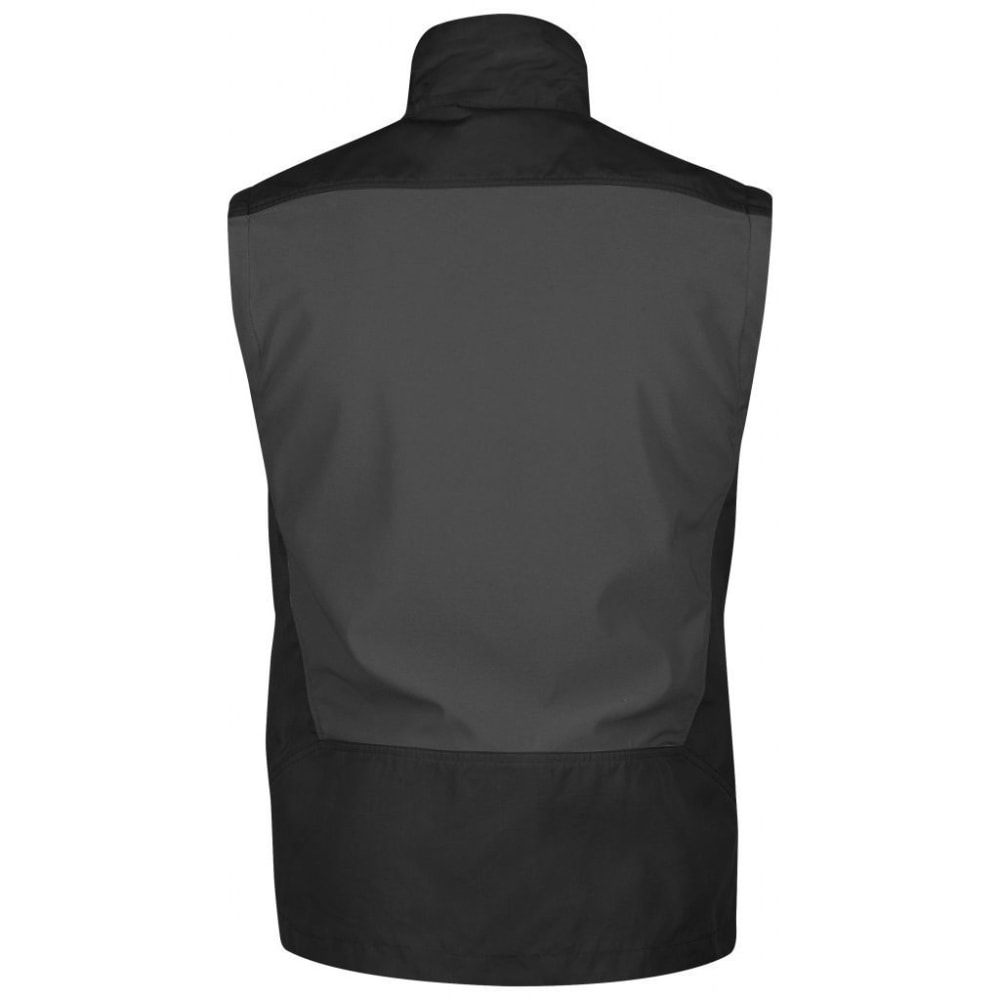 FJALLRAVEN Men's Keb Vest - BLACK/DK GREY
