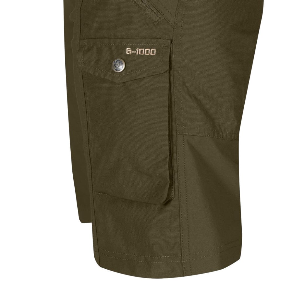 FJALLRAVEN Women's Nikka Shorts - DARK OLIVE