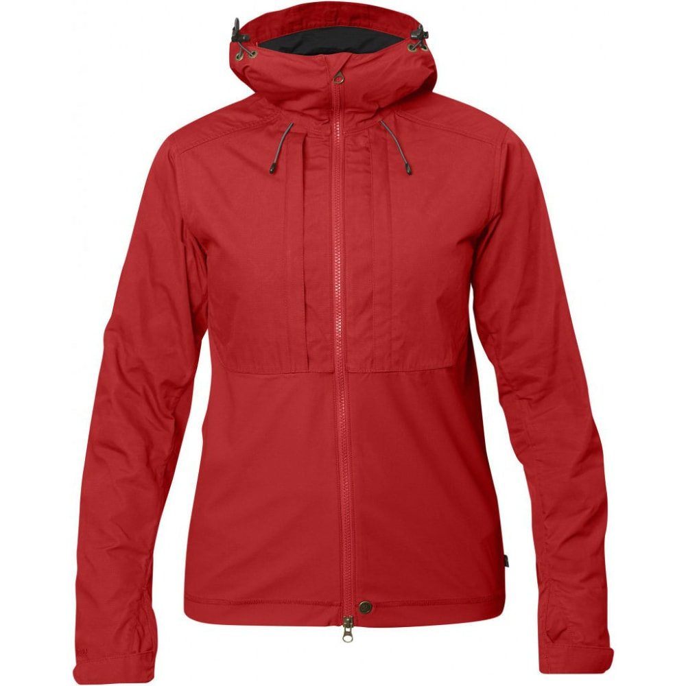 FJALLRAVEN Women's Abisko Lite Jacket - RED