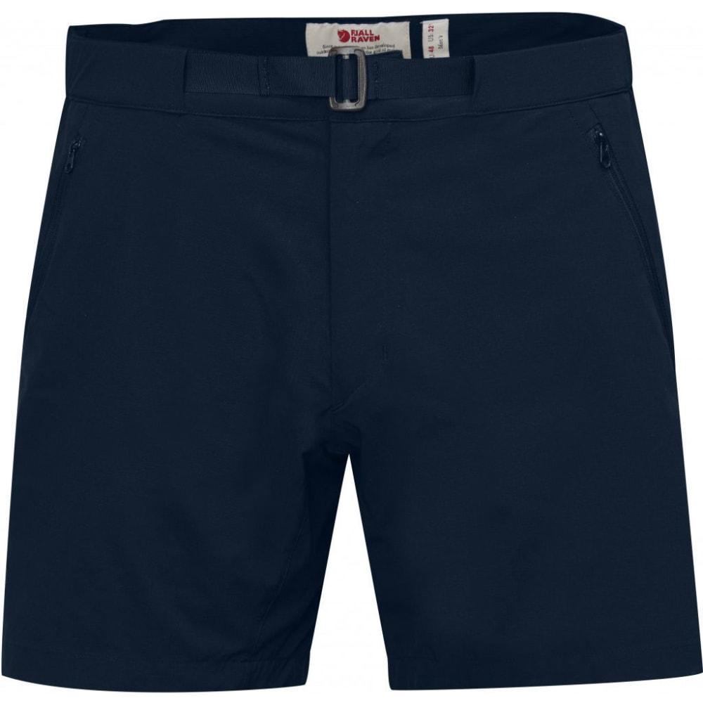 FJALLRAVEN Men's High Coast Trail Shorts - NAVY