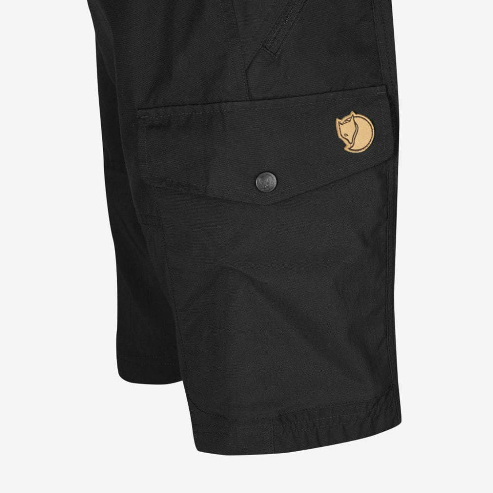 FJALLRAVEN Men's Abisko Shorts - BLACK