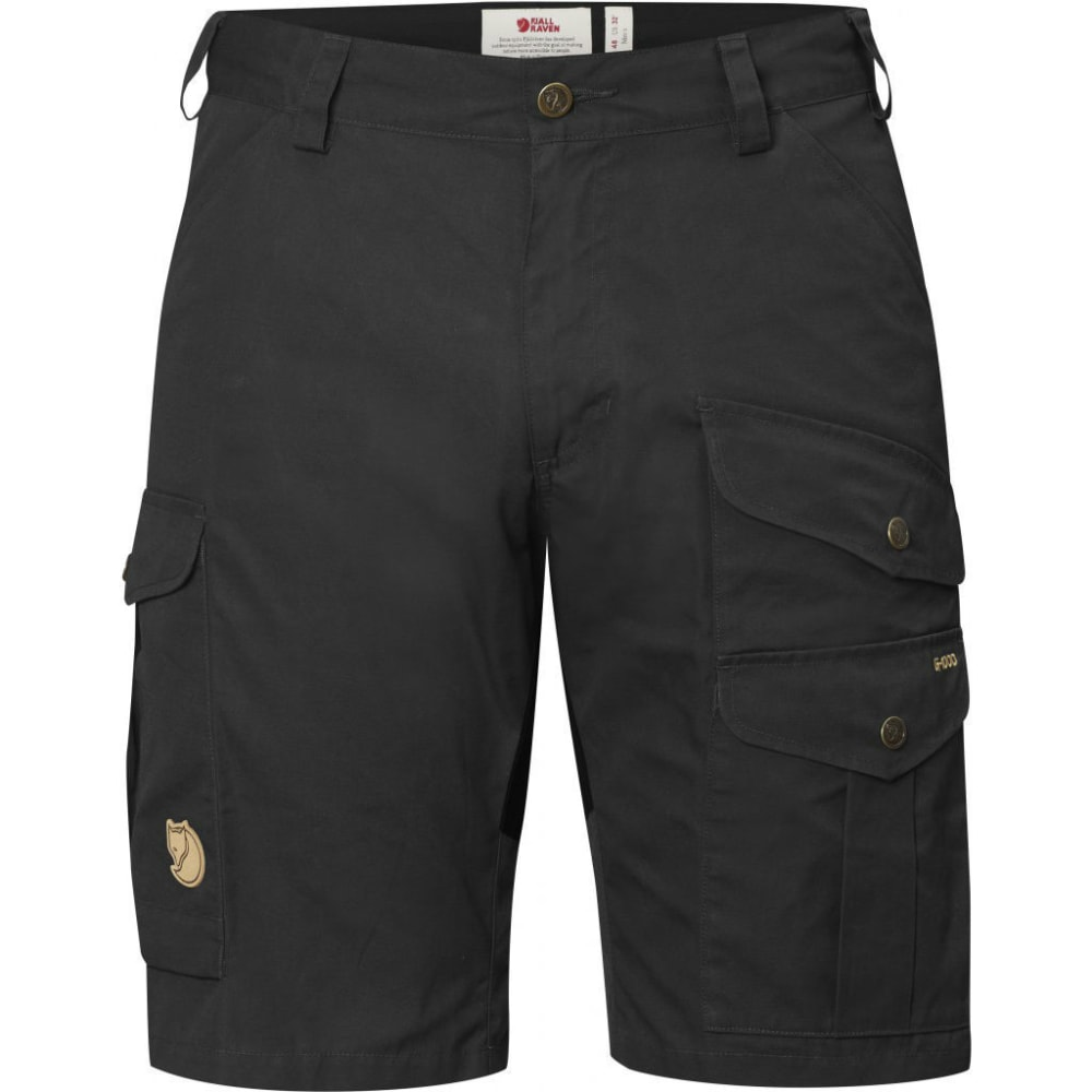 FJALLRAVEN Men's Barents Pro Shorts - DARK GREY/BLACK