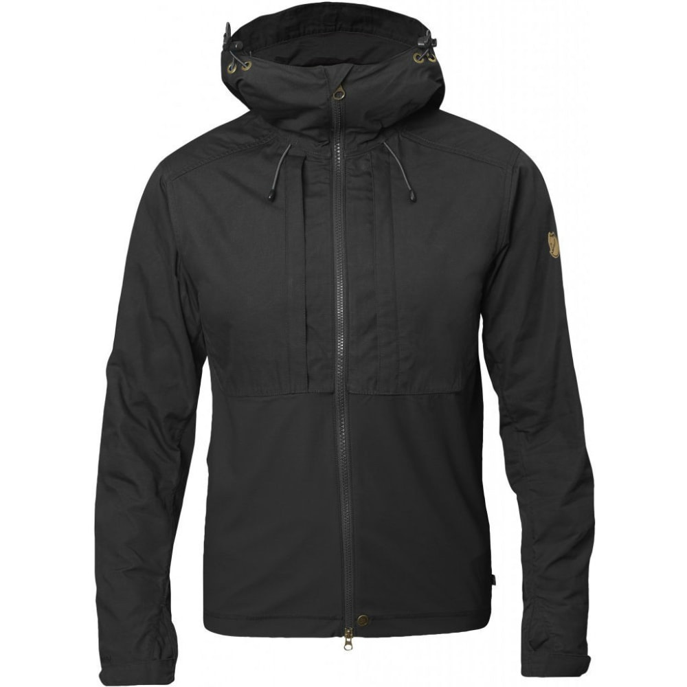 FJALLRAVEN Men's Abisko Lite Jacket - DARK GREY