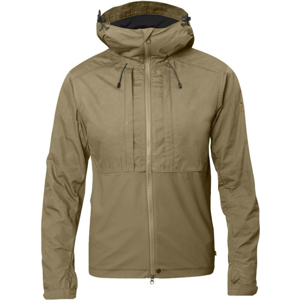 FJALLRAVEN Men's Abisko Lite Jacket - SAND/TARMAC