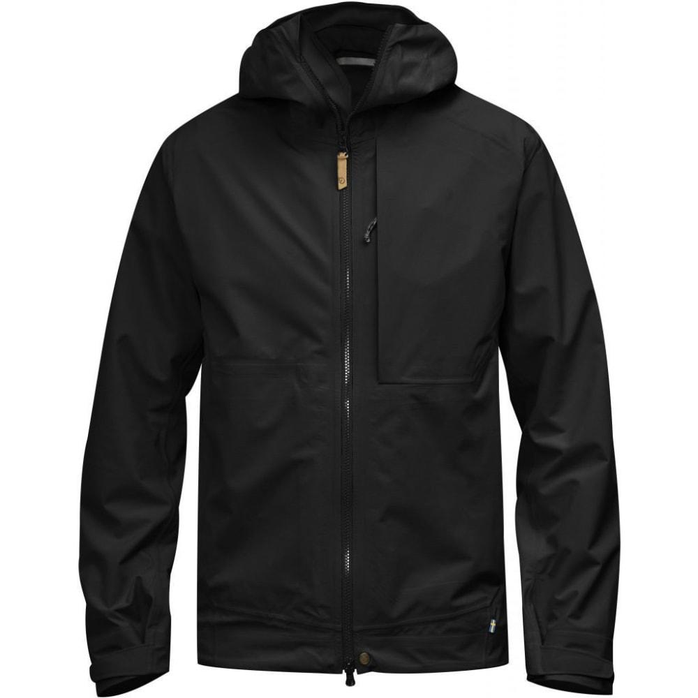 FJALLRAVEN Men's Abisko Eco-Shell Jacket - BLACK