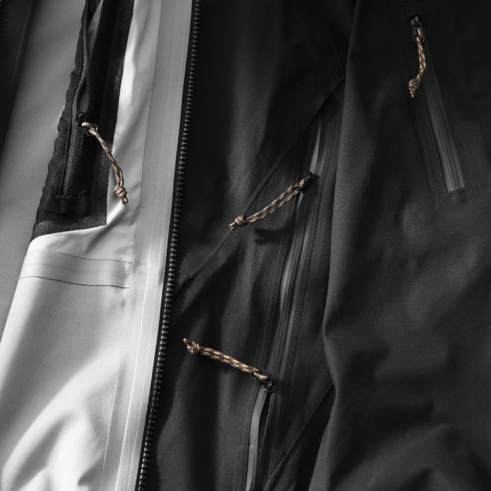 FJALLRAVEN Men's Keb Eco-Shell Jacket - BLACK