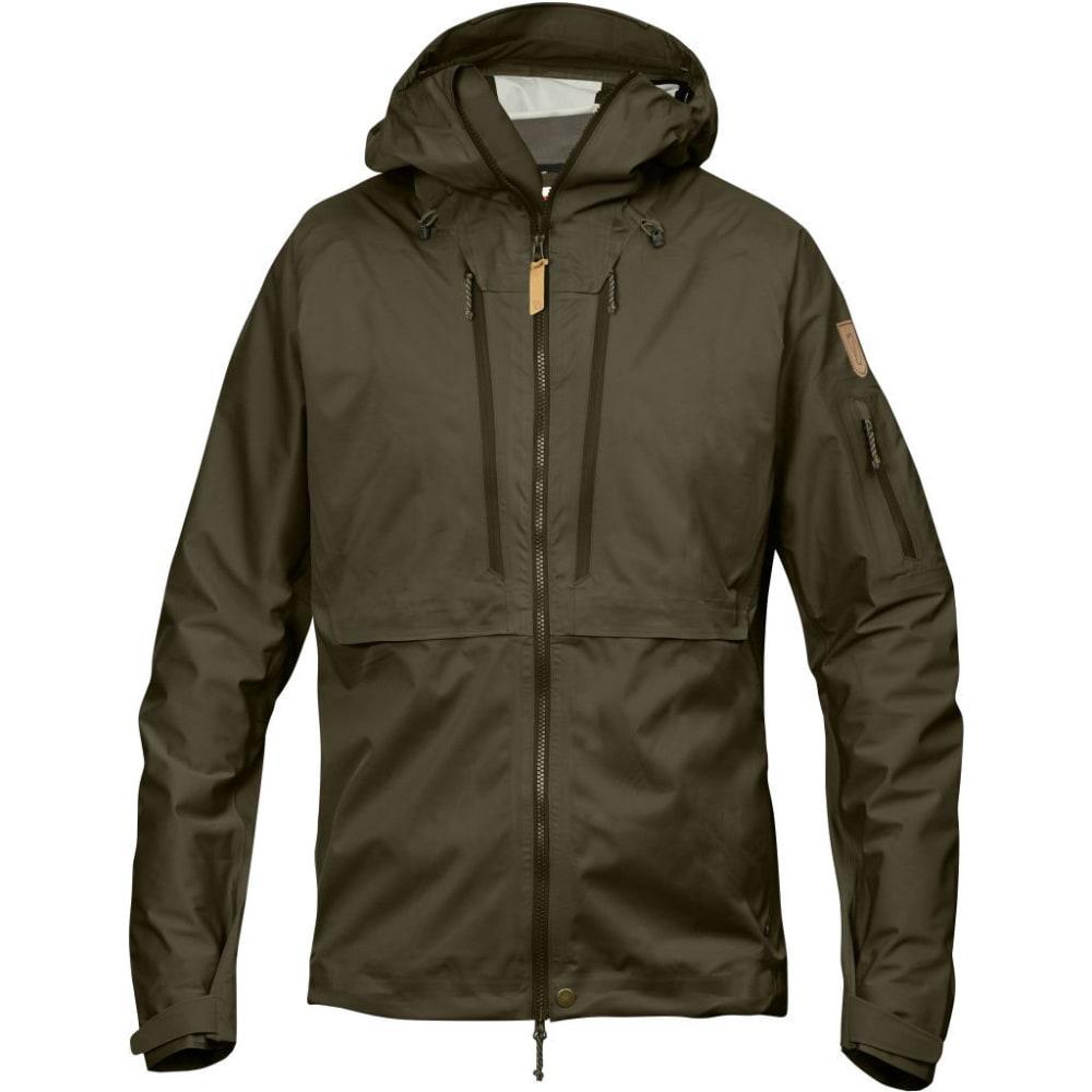 FJALLRAVEN Men's Keb Eco-Shell Jacket - DARK OLIVE