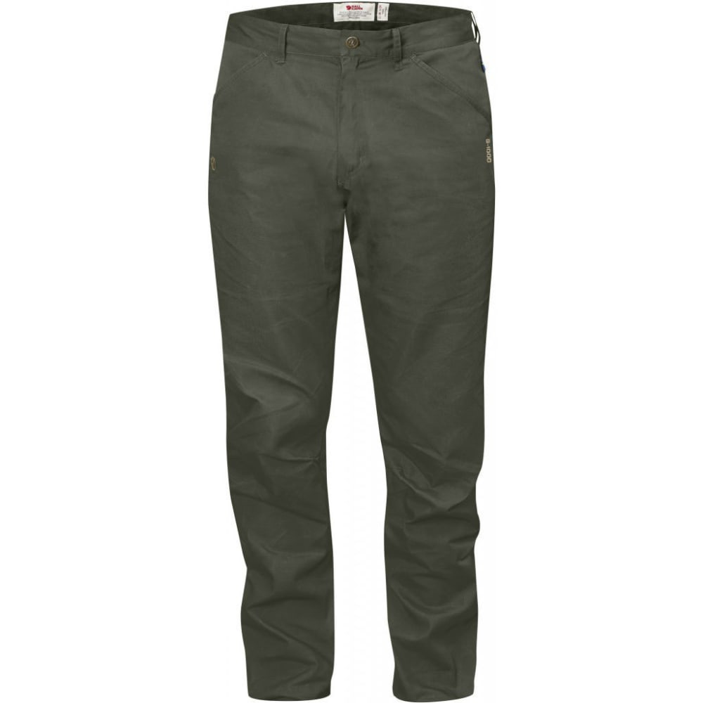 FJALLRAVEN Men's High Coast Trousers Regular - MOUNTAIN GREY