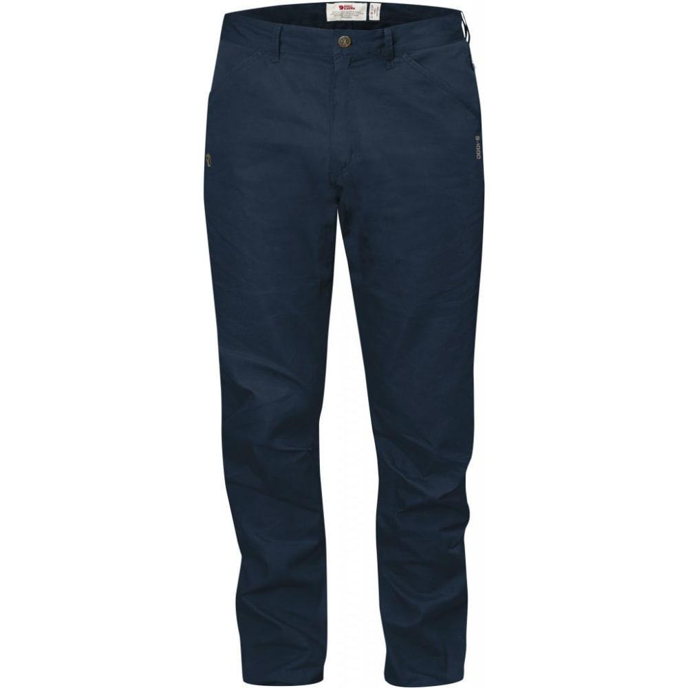FJALLRAVEN Men's High Coast Trousers Regular - NAVY