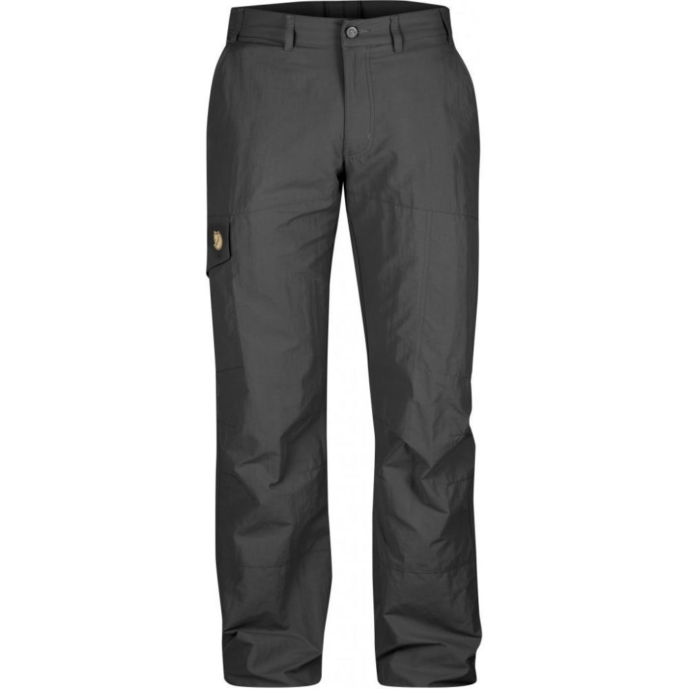 FJALLRAVEN Men's Karl MT Trousers - DARK GREY