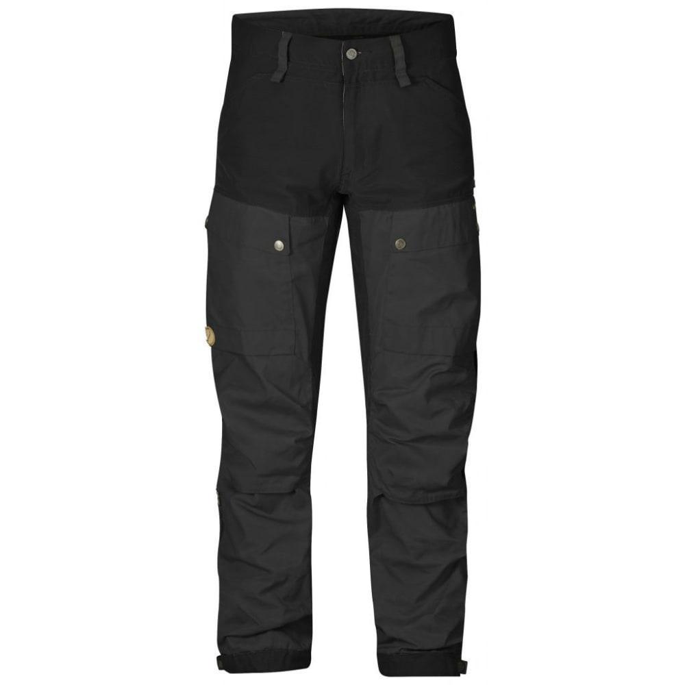 FJALLRAVEN Men's Keb Trousers Regular - BLACK