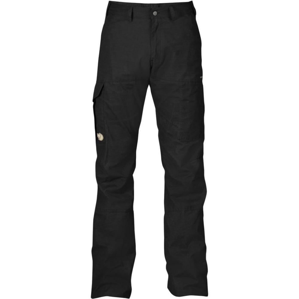 FJALLRAVEN Men's Karl Trousers Regular - BLACK