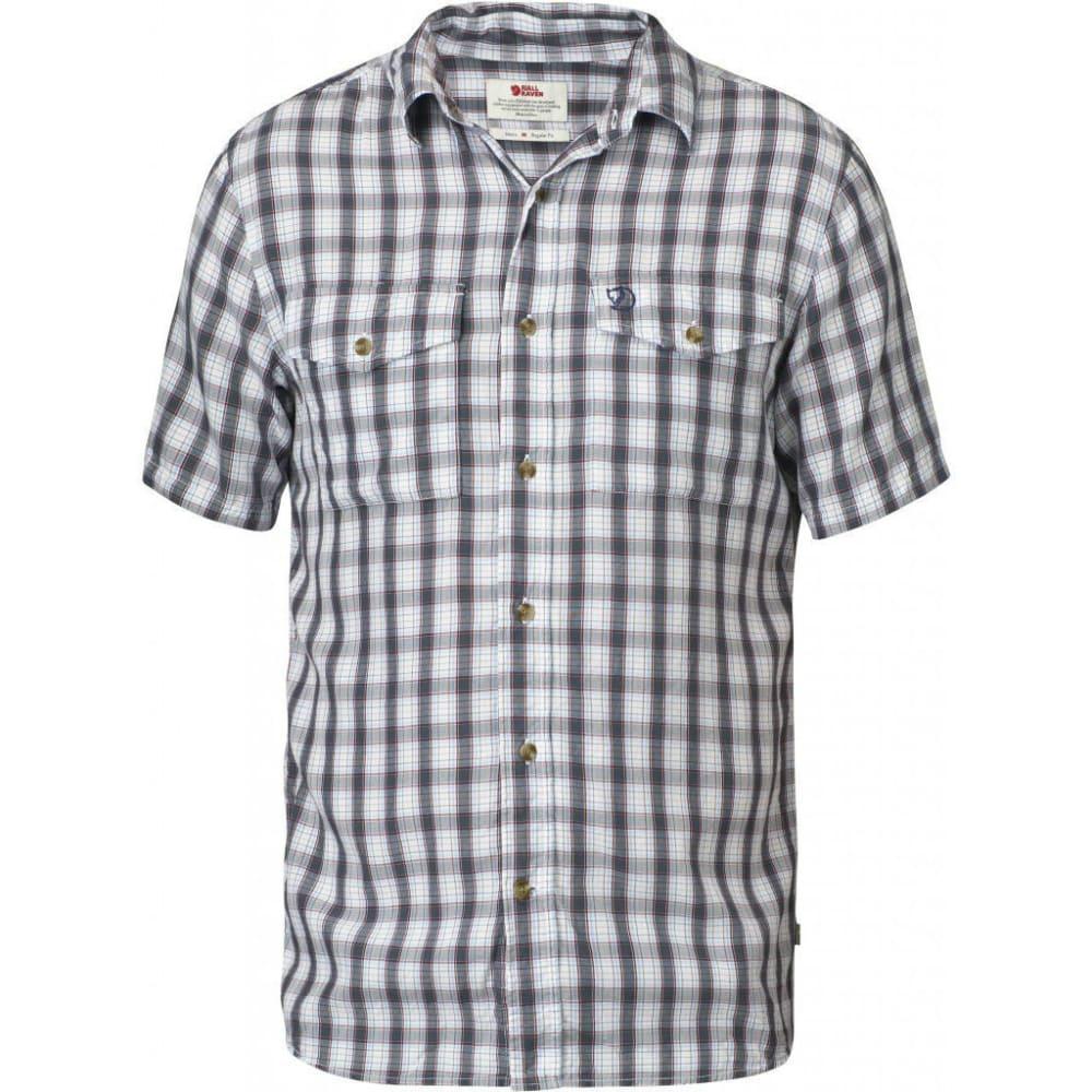 FJÄLLRÄVEN Men's Abisko Cool Short-Sleeve Shirt - BLUEBIRD