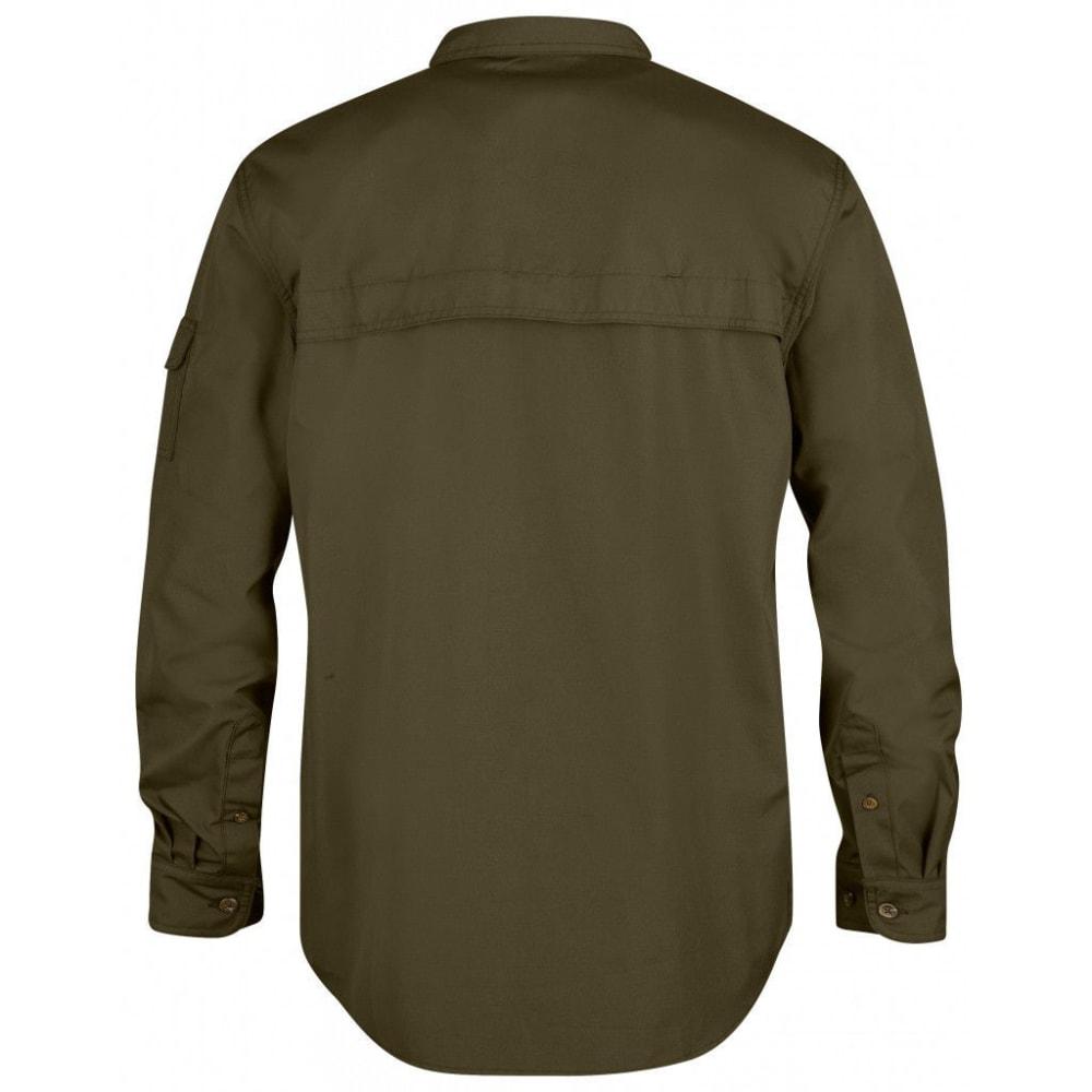 FJÄLLRÄVEN Men's Sarek Long-Sleeve Shirt - DARK OLIVE