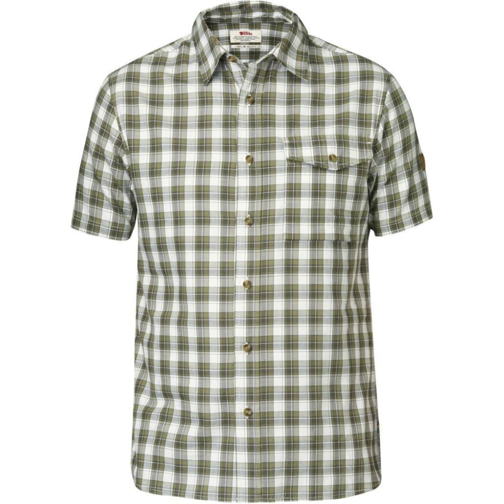 FJÄLLRÄVEN Men's Sarek Short-Sleeve Shirt - OLIVE