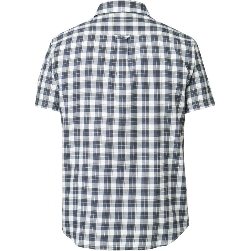 FJÄLLRÄVEN Men's Sarek Short-Sleeve Shirt - UNCLE BLUE