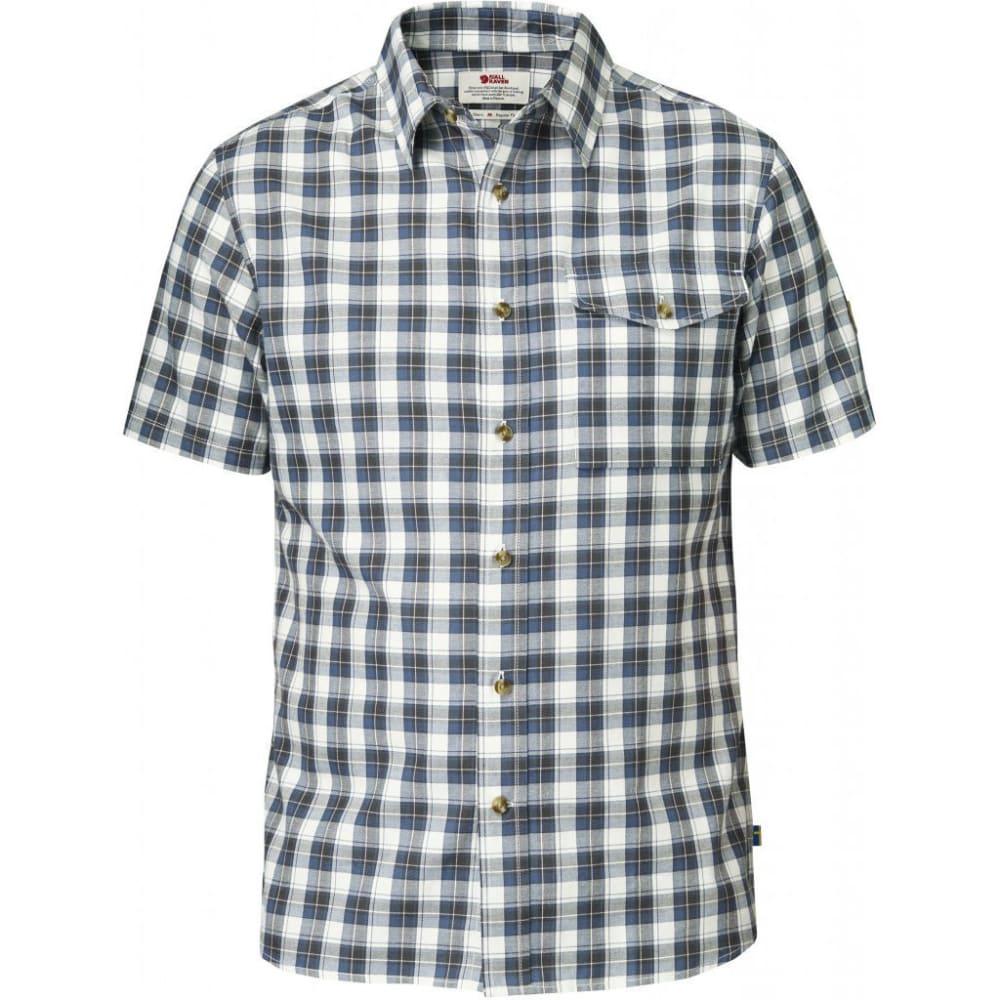 FJÄLLRÄVEN Men's Sarek Short-Sleeve Shirt - UNCLE BLUE