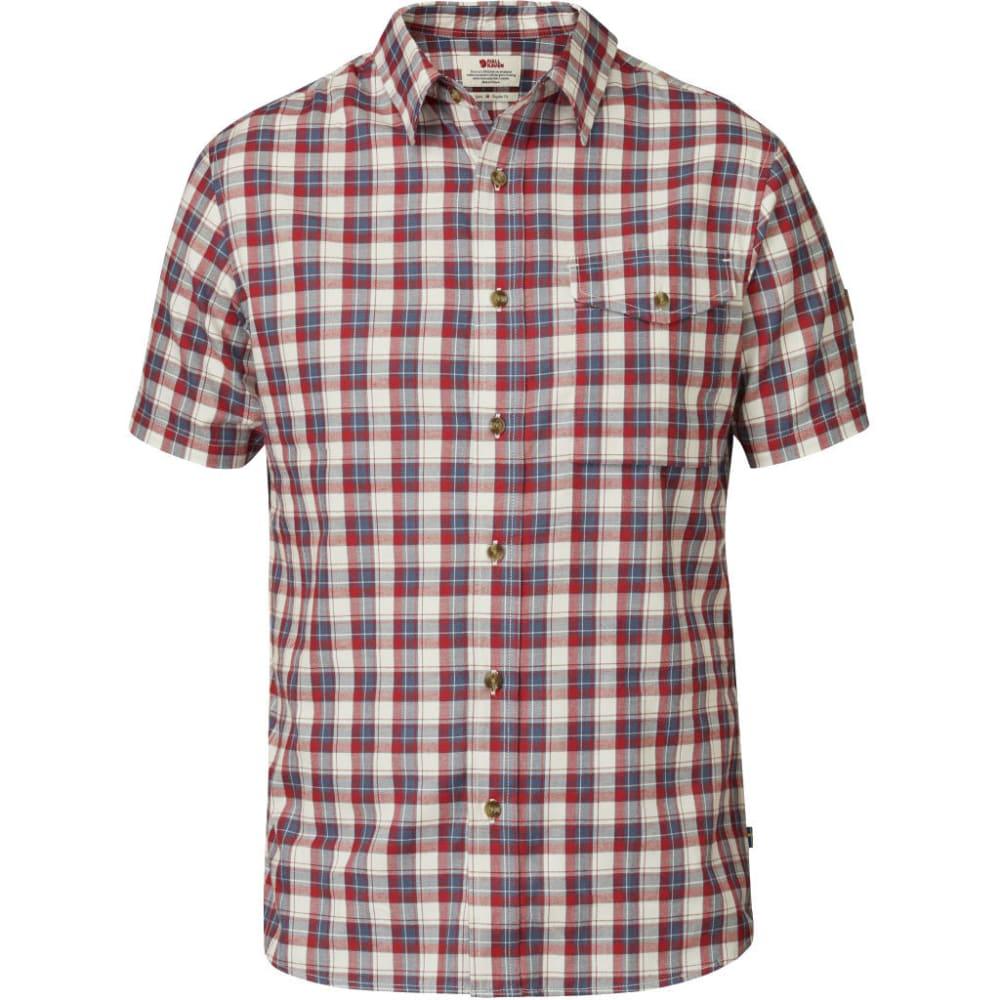 FJÄLLRÄVEN Men's Sarek Short-Sleeve Shirt - RED