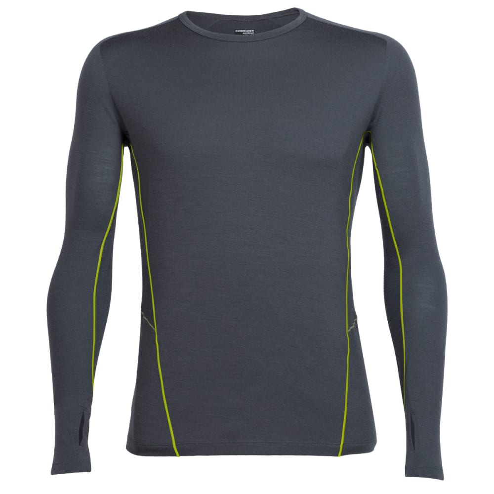 ICEBREAKER Men's Factor Long Sleeve Shirt - MONSOON/MNSN/CTS