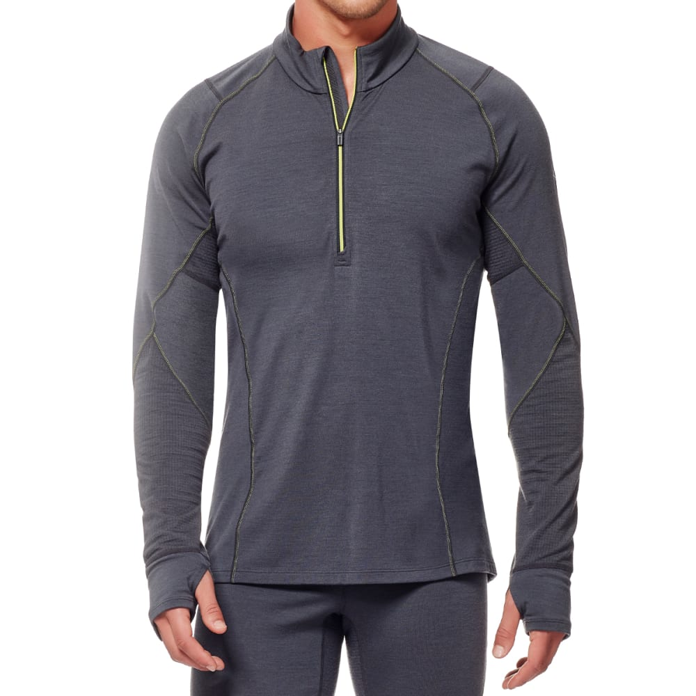 ICEBREAKER Men's BodyfitZONE Winter Zone Long-Sleeve 1/2 Zip - MONSOON/MNSN/CTS
