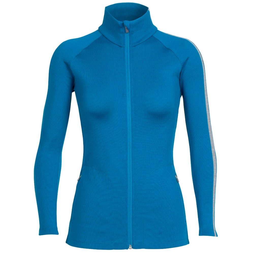 ICEBREAKER Women's Affinity Long-Sleeve Full-Zip - ALPINE/METRO H/ALP