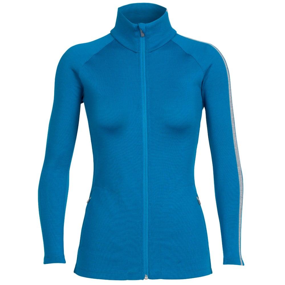 ICEBREAKER Women's Affinity Long-Sleeve Full-Zip - ALPINE/METRO H/ALP