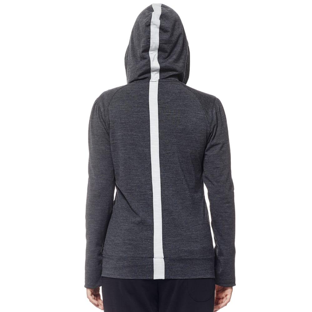 ICEBREAKER Nomi Long-Sleeve Zip - JET HTHR/BLZD H/JET