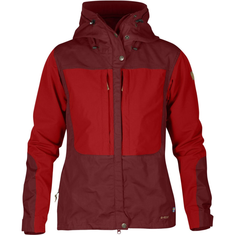 FJALLRAVEN Women's Keb Jacket - OX RED/RED