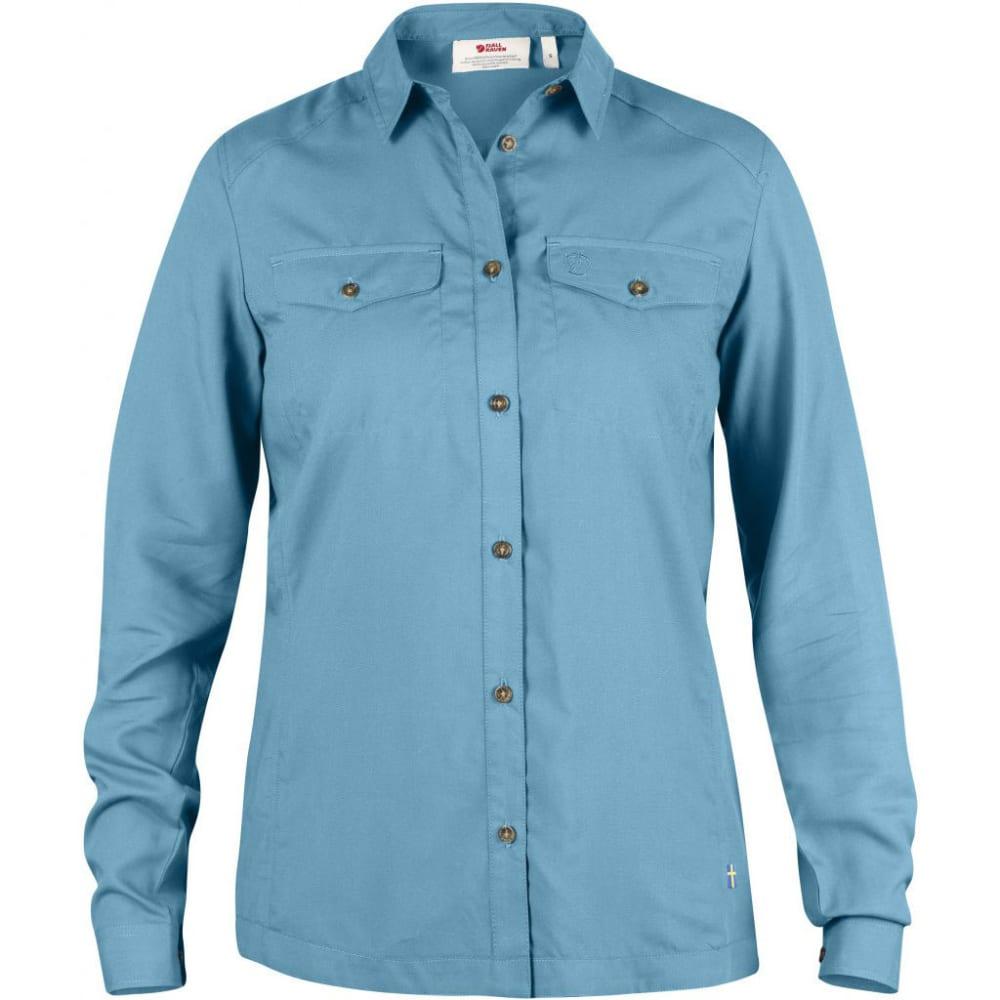FJÄLLRÄVEN Women's Abisko Vent Long-Sleeve Shirt - BLUEBIRD