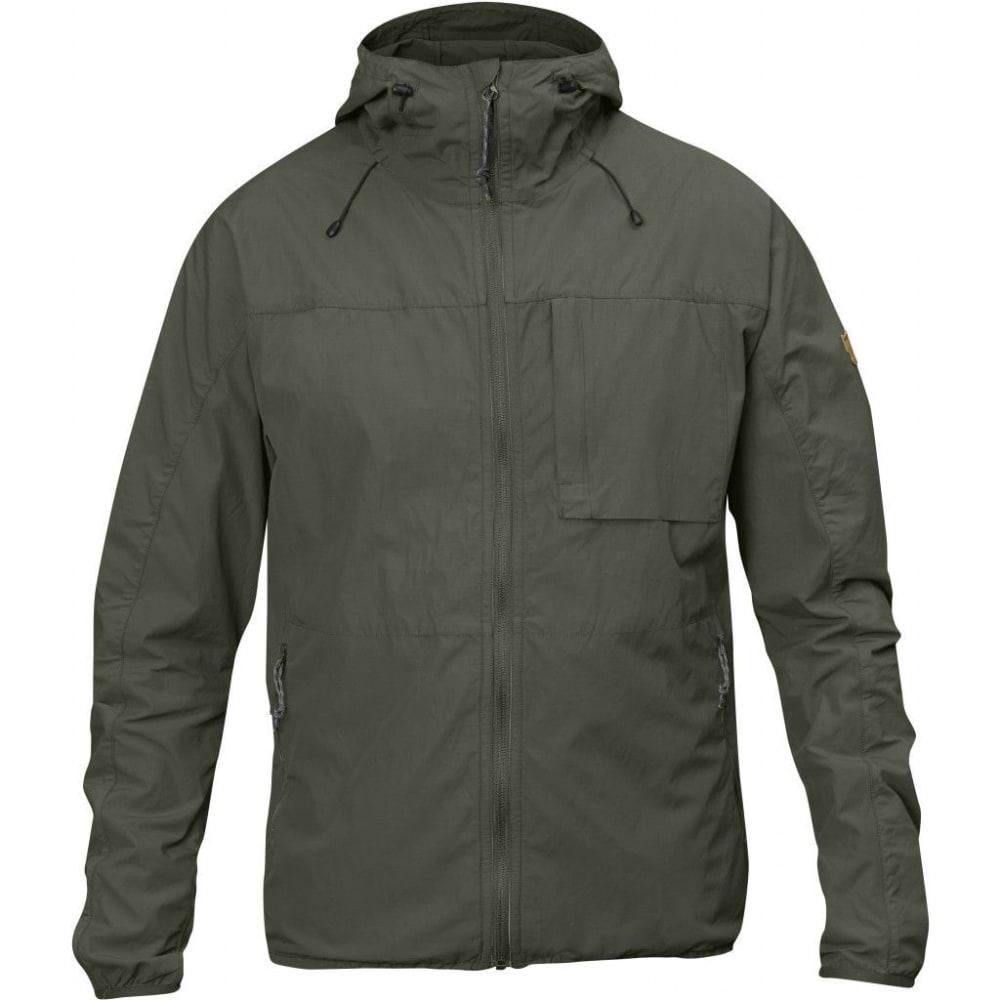 FJALLRAVEN Men's High Coast Wind Jacket - MOUNTAIN GREY