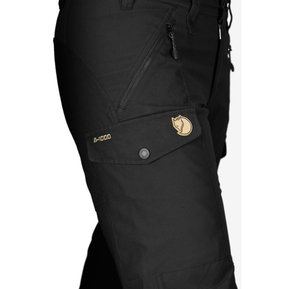FJALLRAVEN Women's Nikka Trousers - BLACK