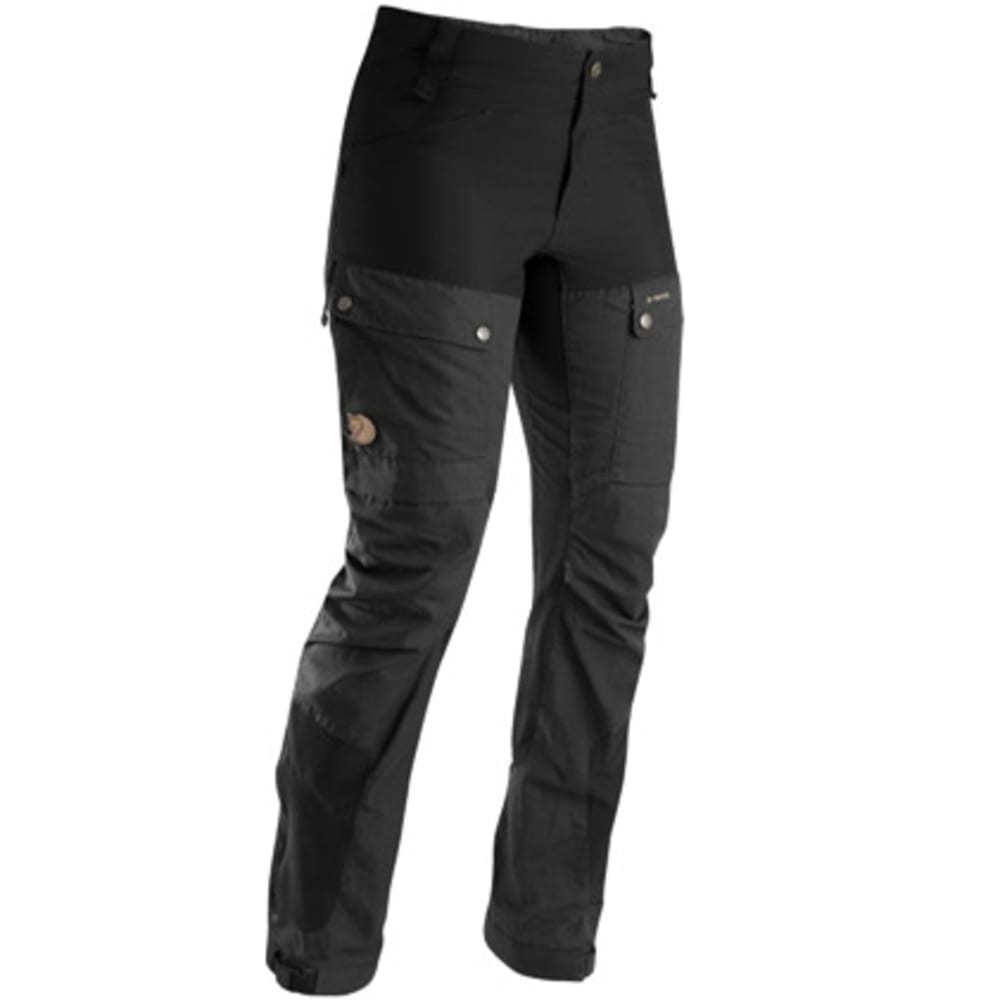 FJALLRAVEN Women's Keb Trousers, Regular - BLACK