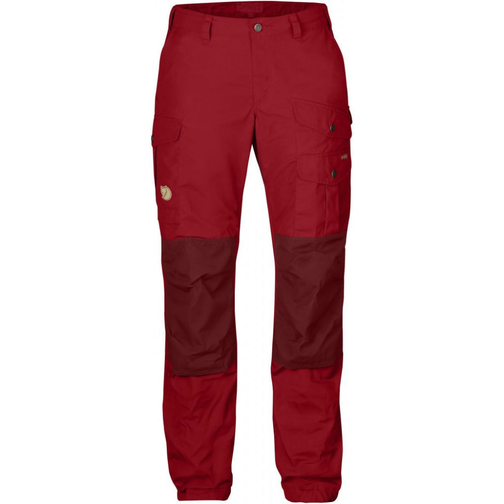 FJALLRAVEN Women's Vidda Pro Trousers - DEEP RED/OX RED