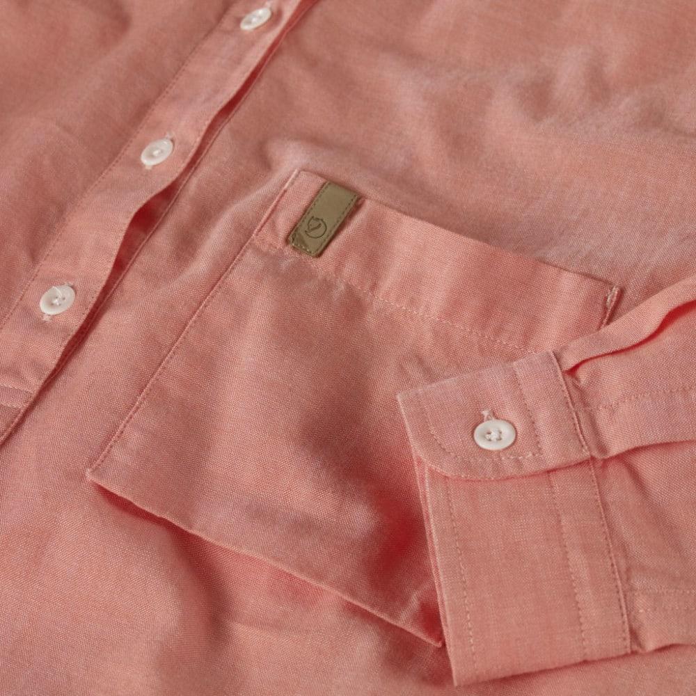 FJÄLLRÄVEN Women's Kiruna Long-Sleeve Shirt - SOFT PEACH