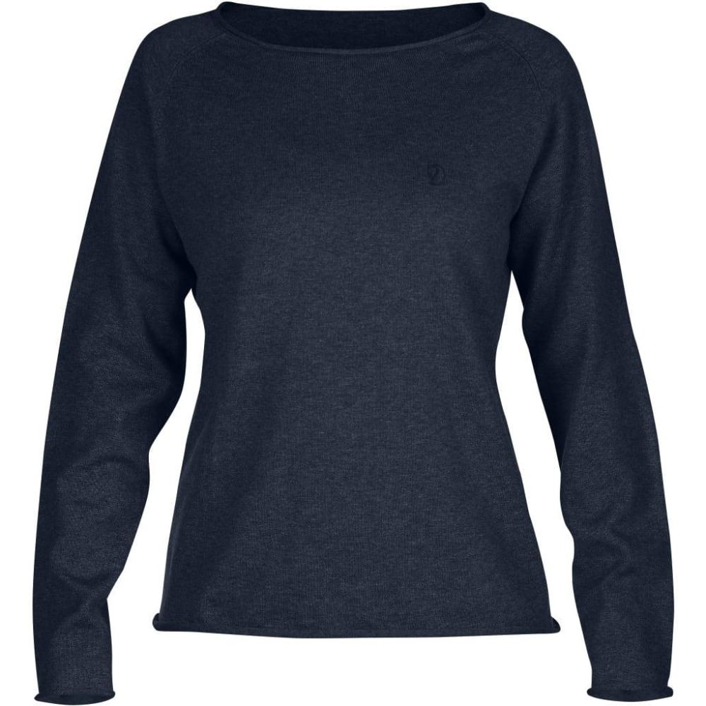 FJÄLLRÄVEN Women's Ovik Sweater - DARK NAVY