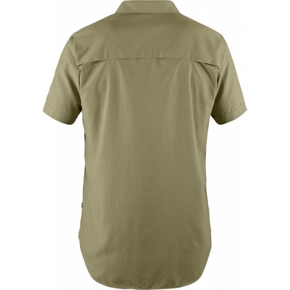 FJÄLLRÄVEN Men's Abisko Hike Short-Sleeve Shirt - CORK