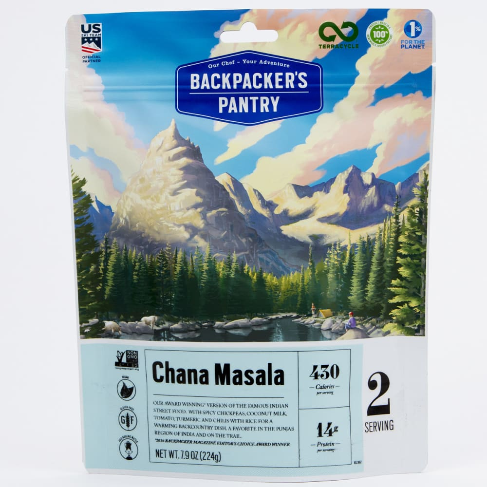 BACKPACKER'S PANTRY Chana Masala - NO COLOR