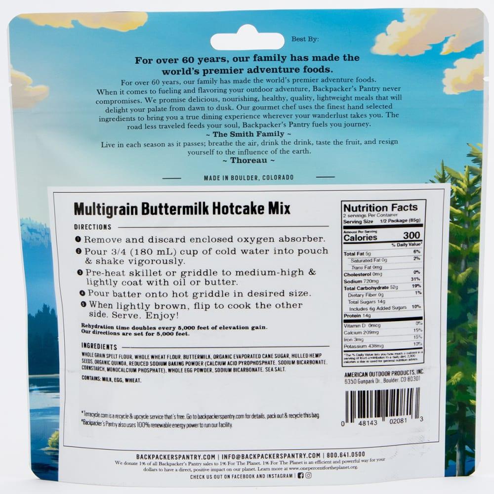 BACKPACKER'S PANTRY Multigrain Buttermilk Hotcakes - NO COLOR