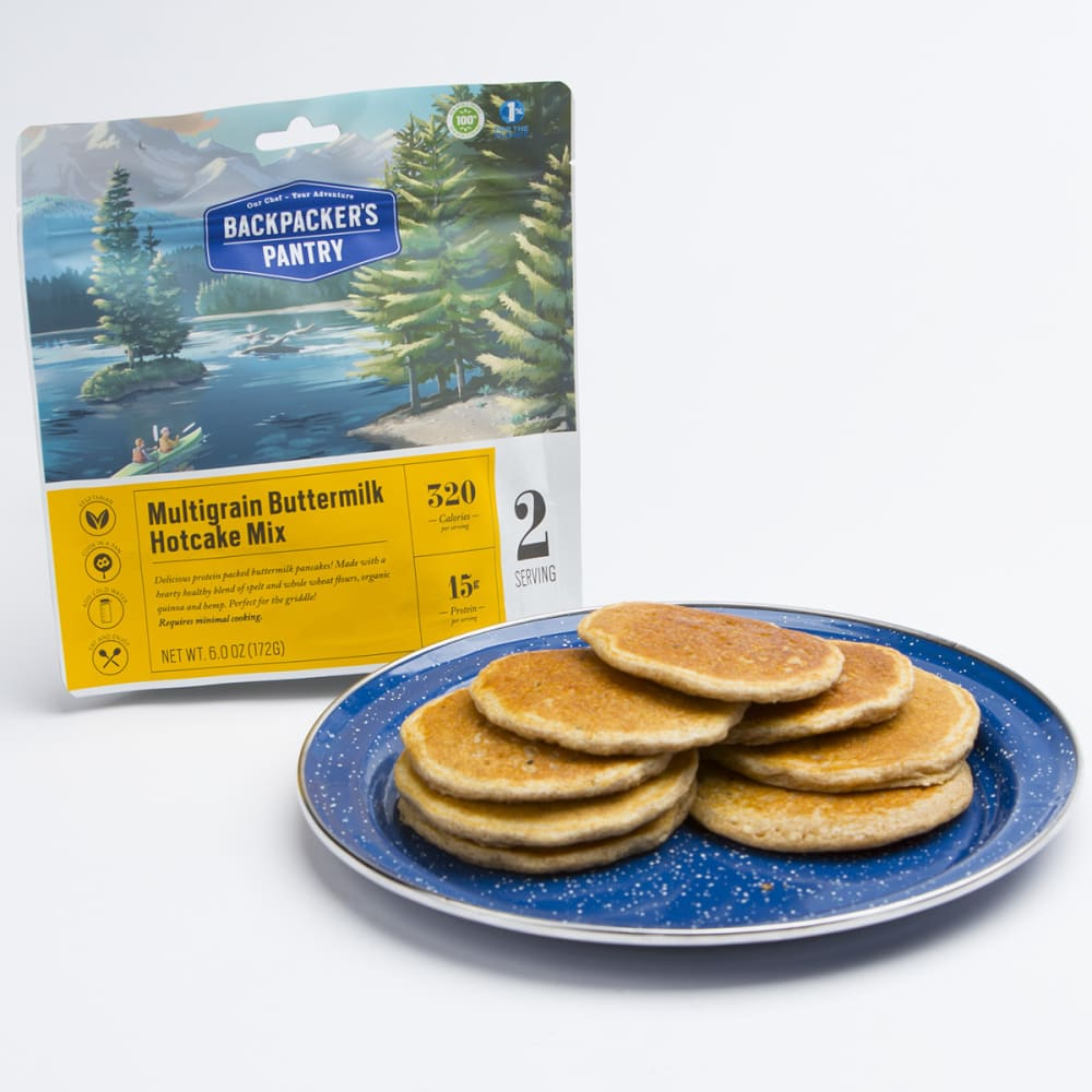 BACKPACKER'S PANTRY Multigrain Buttermilk Hotcakes - NO COLOR