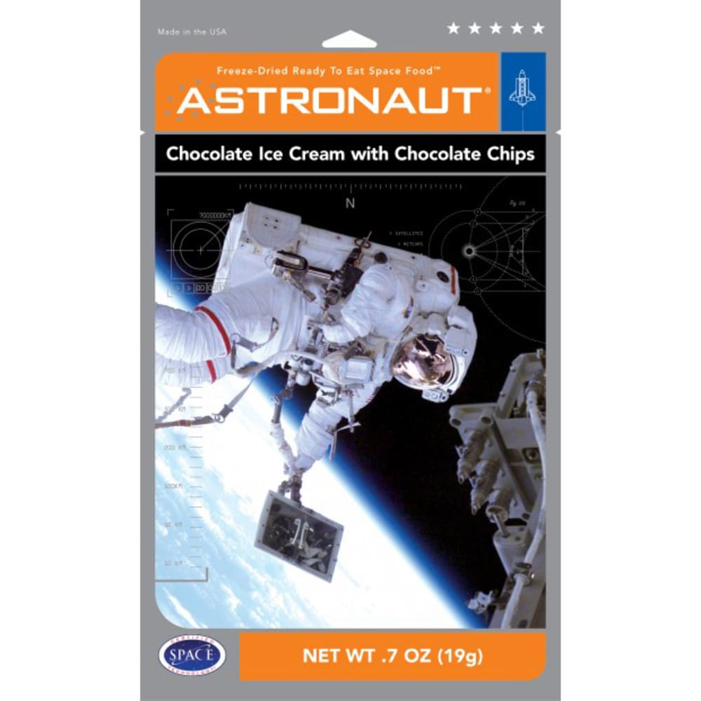 BACKPACKER'S PANTRY Astronaut Freeze-Dried Chocolate Ice Cream with Chocolate Chips - NO COLOR